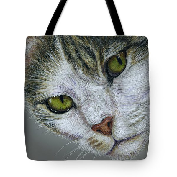 Tara Cat Art Tote Bag