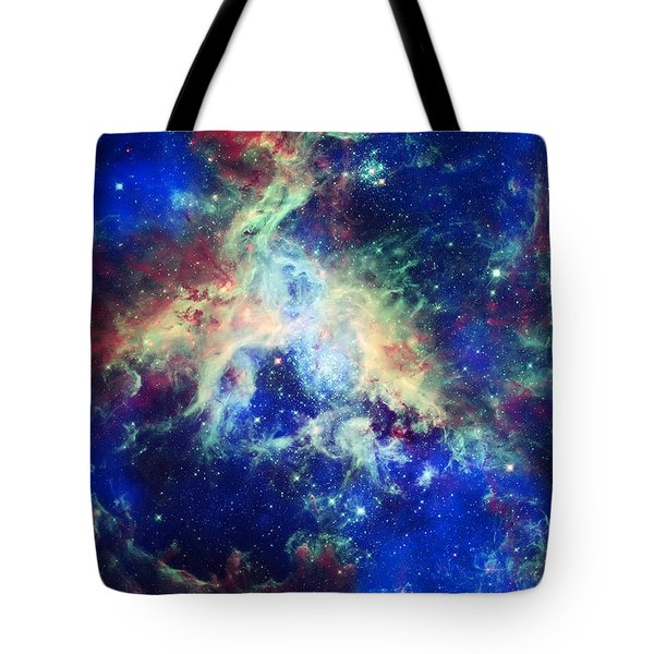 Tarantula Nebula 4 Tote Bag by Jennifer Rondinelli Reilly - Fine Art Photography
