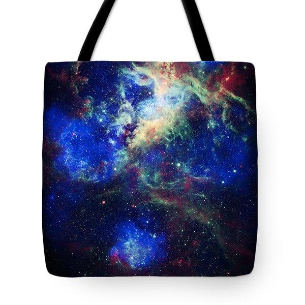 Tarantula Nebula 5 Tote Bag by Jennifer Rondinelli Reilly - Fine Art Photography