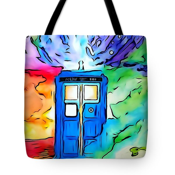 Tardis Illustration Edition Tote Bag