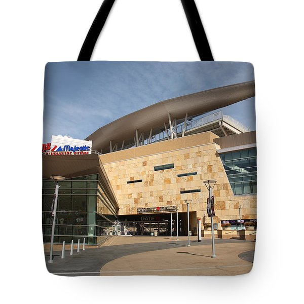 Target Field - Minnesota Twins Tote Bag by Frank Romeo
