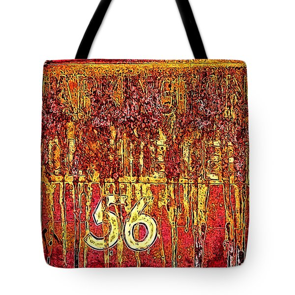 Tarkington Vol Fire Dept 56 Tote Bag