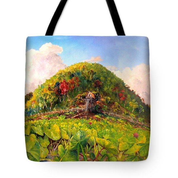 Taro Garden Of Papua Tote Bag