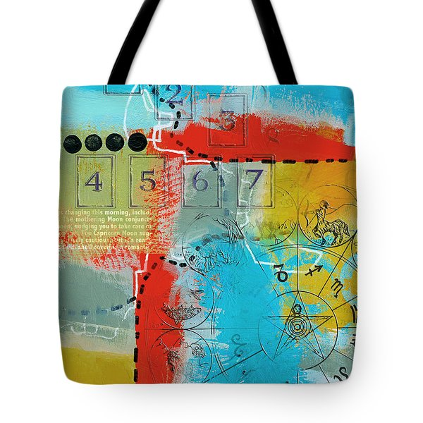 Tarot Art Abstract Tote Bag by Corporate Art Task Force
