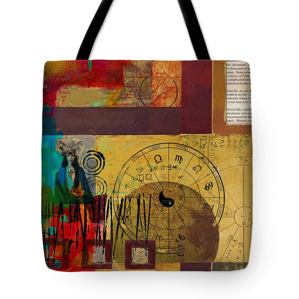 Tarot Card Abstract 003 Tote Bag by Corporate Art Task Force