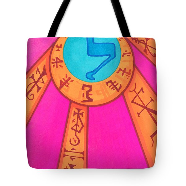 Tarot Card - Eclipse  Tote Bag