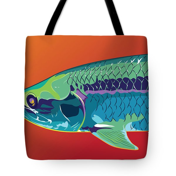 Tarpon Colors Tote Bag by Kevin Putman