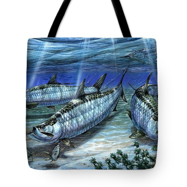 Tarpon In Paradise - Sabalo Tote Bag