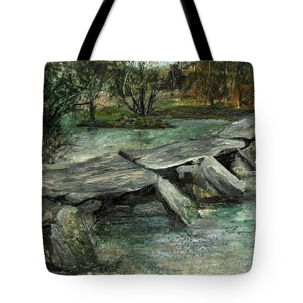 Tarr Steps Tote Bag by Carol Rowland