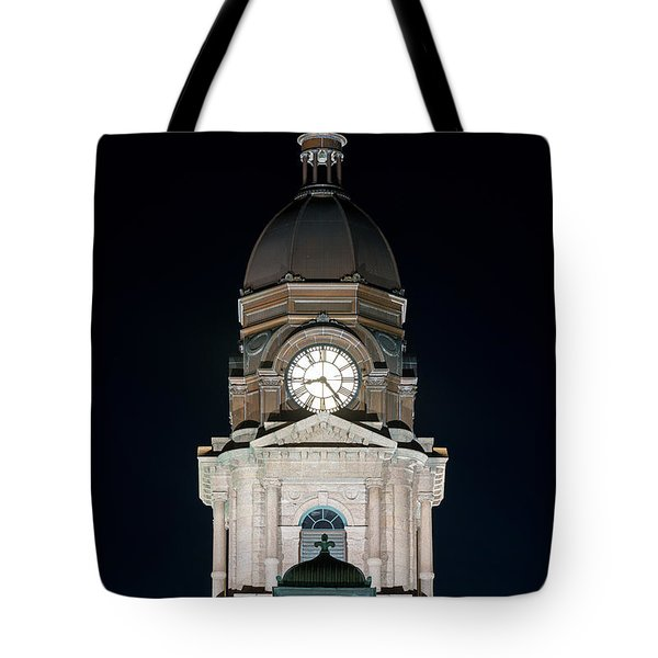 Tarrant County Courthouse V2 020815 Tote Bag