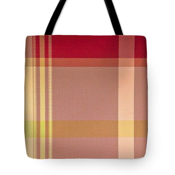 Tartan Cloth Tote Bag