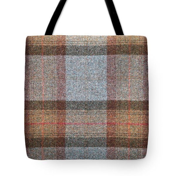 Tartan Wool Tote Bag by Tom Gowanlock