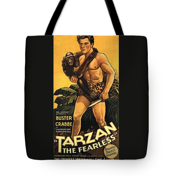 Tarzan The Fearless  Tote Bag