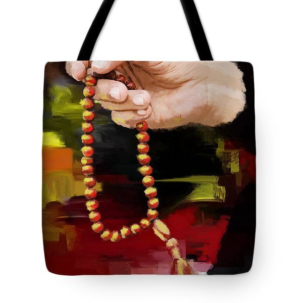 Tasbeeh Tote Bag by Catf