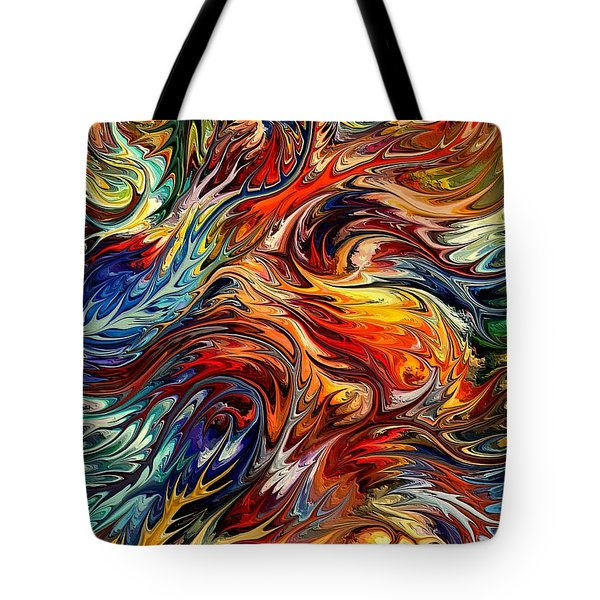 Tasmania By Rafi Talby Tote Bag by Rafi Talby