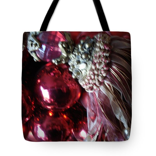 Tassel With Red Ornaments Tote Bag