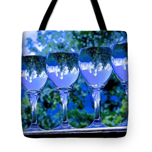 Take A Drink Of Nature Tote Bag by Rita Mueller