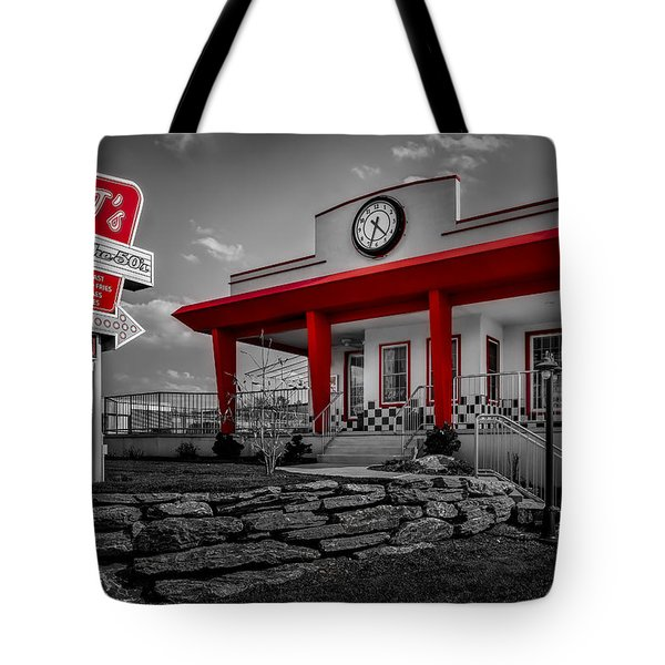Taste Of The Fifties Tote Bag by Susan Candelario