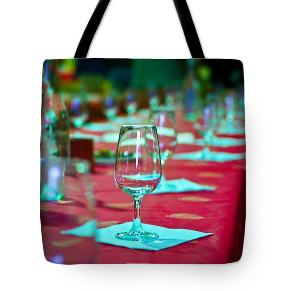 Tasting In Red Tote Bag