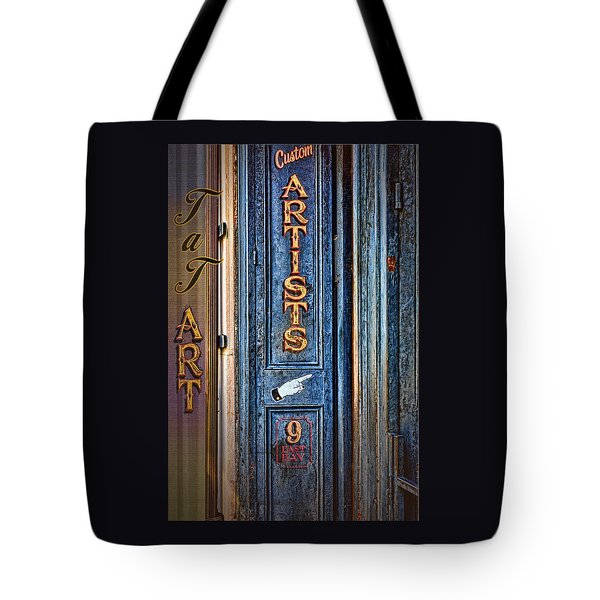Tat Art Tote Bag by Larry Bishop