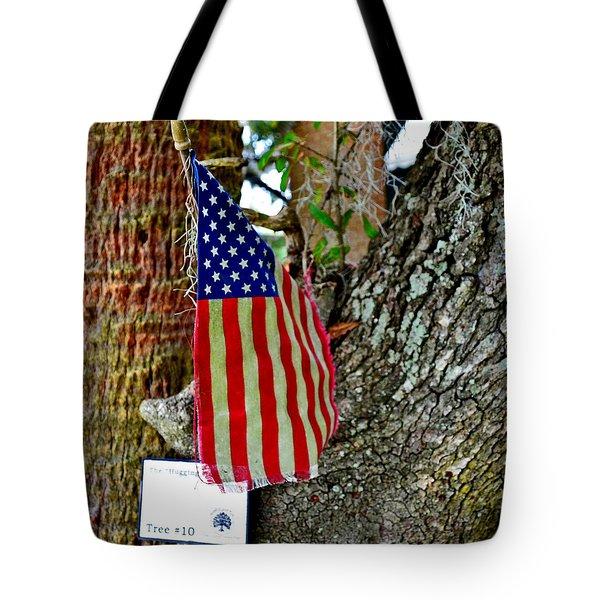 Tattered America Tote Bag