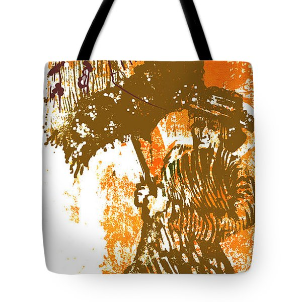Tattered Parasol Tote Bag by Seth Weaver