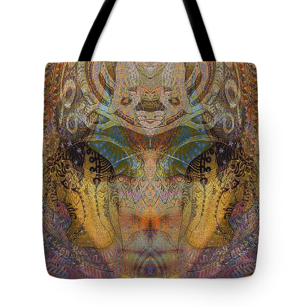Tattoo Mask Tote Bag