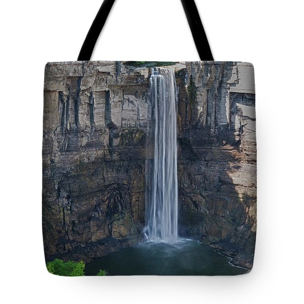 Taughannock Falls  0453 Tote Bag by Guy Whiteley