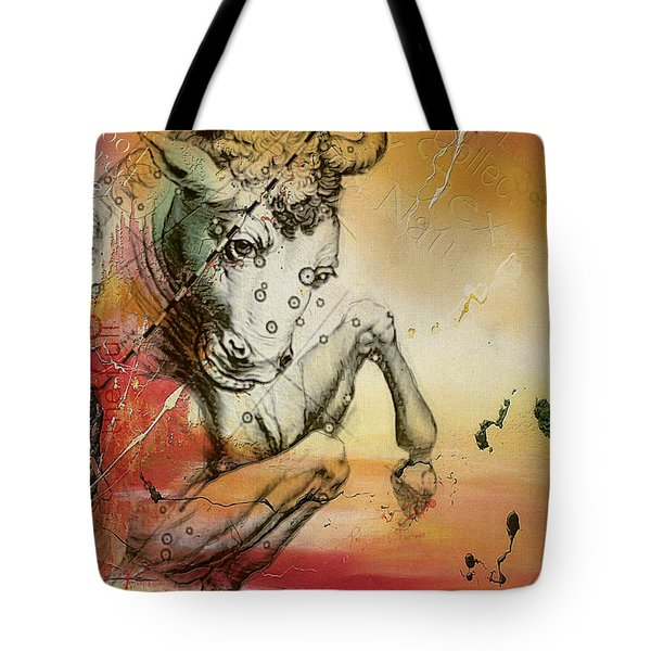 Taurus  Tote Bag by Corporate Art Task Force