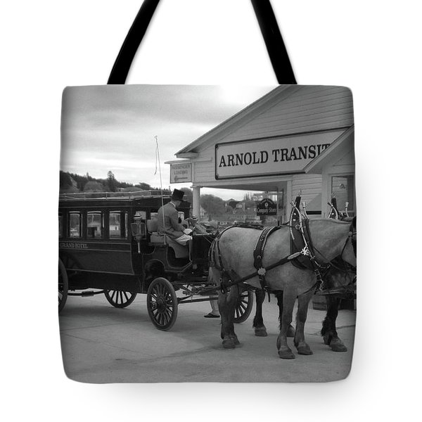 Taxi 10416 Tote Bag by Guy Whiteley