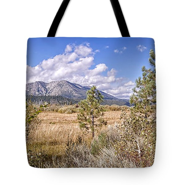 Tote Bag featuring the photograph Taylor Creek Panorama by Jim Thompson