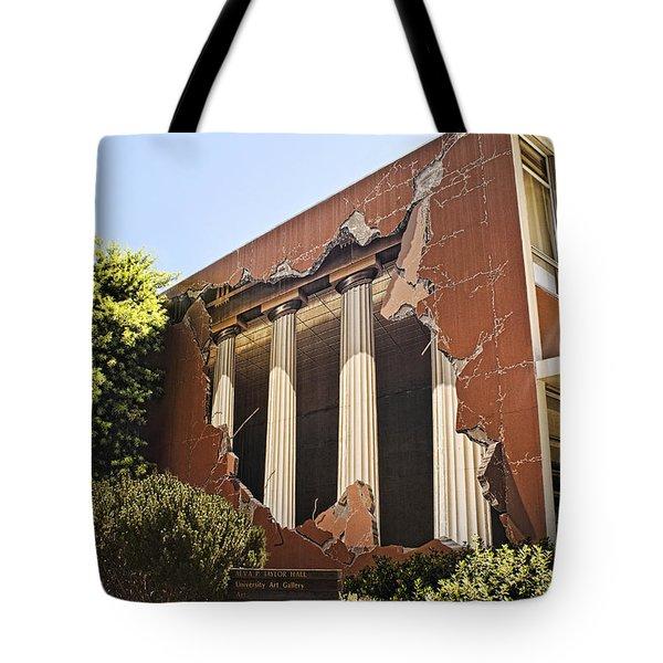 Taylor Hall Trompe L' Oiel Tote Bag