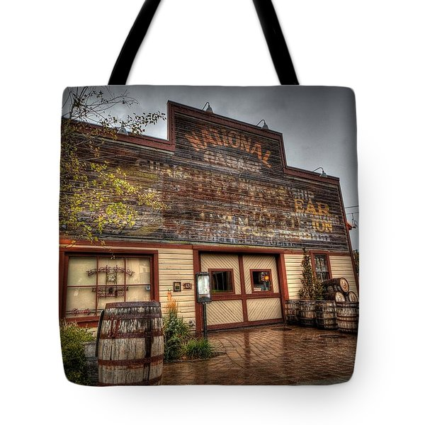 High West Distillery Tote Bag