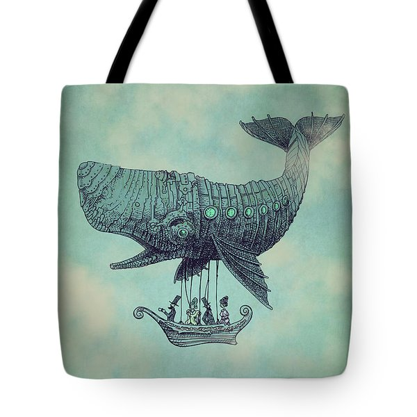 Tea At Two Thousand Feet Tote Bag by Eric Fan