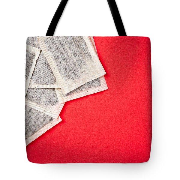 Tea Bags Tote Bag by Tom Gowanlock