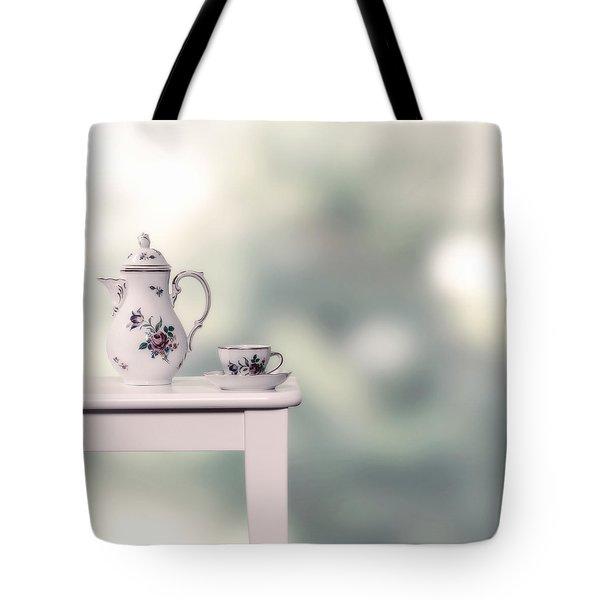 Tea Cup And Pot Tote Bag by Joana Kruse