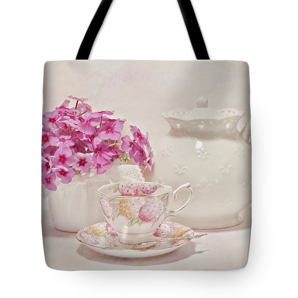 Tea For You Tote Bag by Sandra Foster
