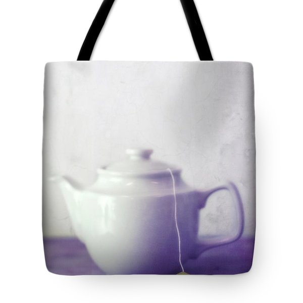 Tea Jug Tote Bag by Priska Wettstein