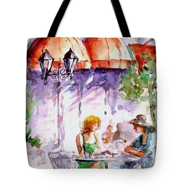 Tea Time...  Tote Bag by Faruk Koksal