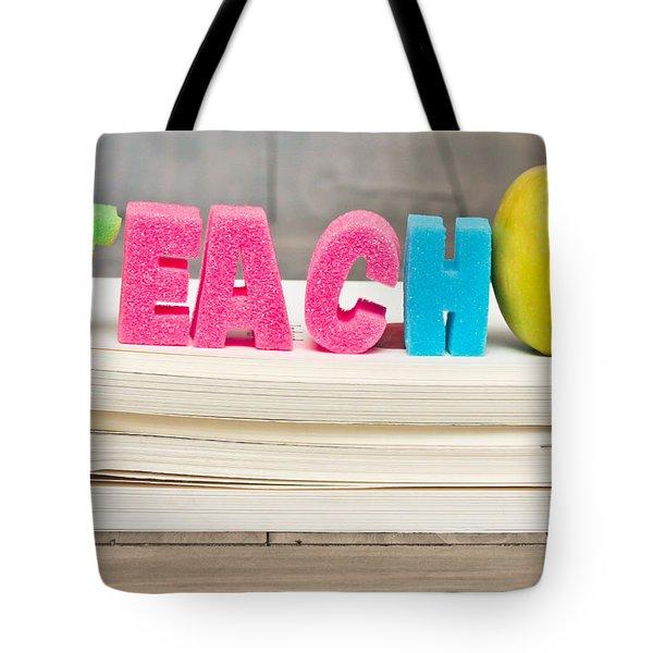 Teach Concept Tote Bag