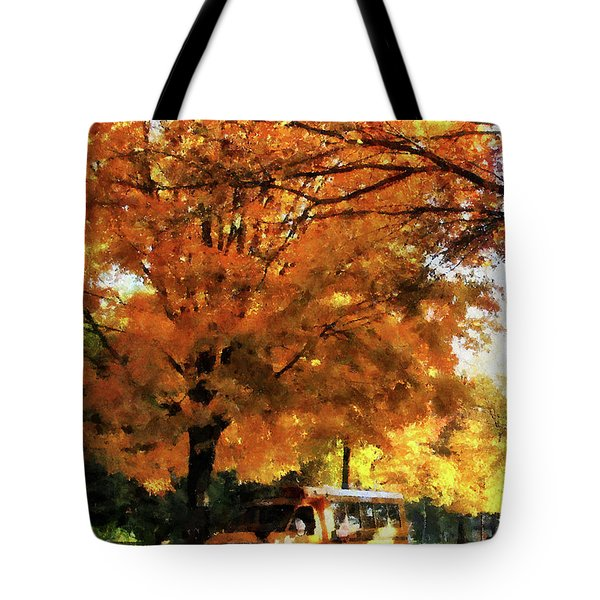Teacher - Back To School Tote Bag by Susan Savad