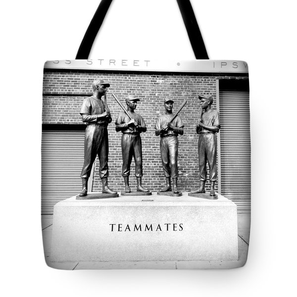 Teammates Tote Bag by Greg Fortier