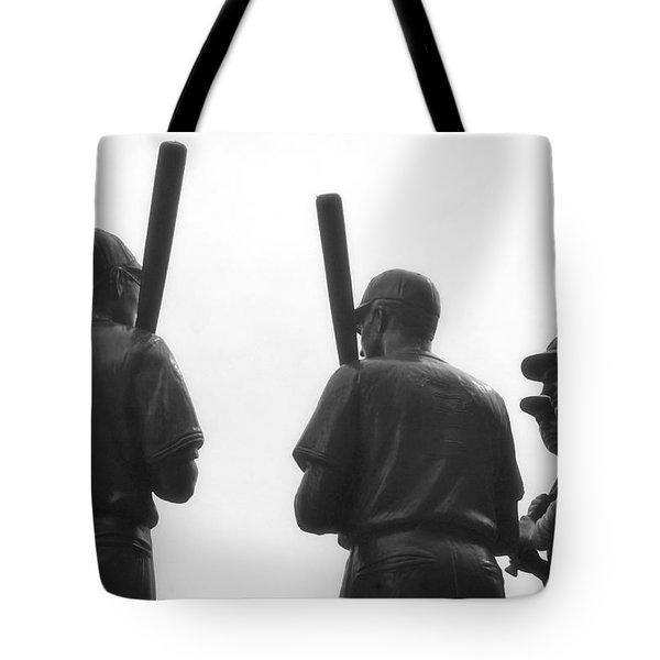 Teammates Tote Bag by Joann Vitali