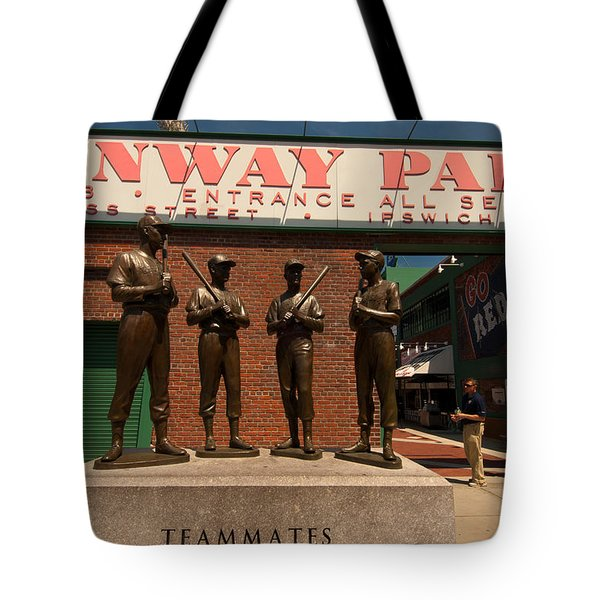 Teammates Tote Bag by Paul Mangold