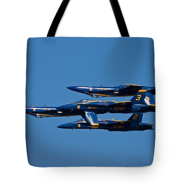 Teamwork Tote Bag by Adam Romanowicz