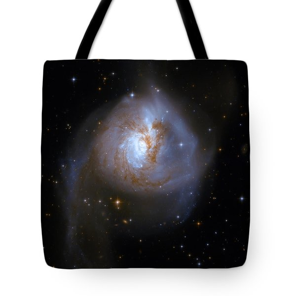 Tear Drop Galaxy Tote Bag by Jennifer Rondinelli Reilly - Fine Art Photography