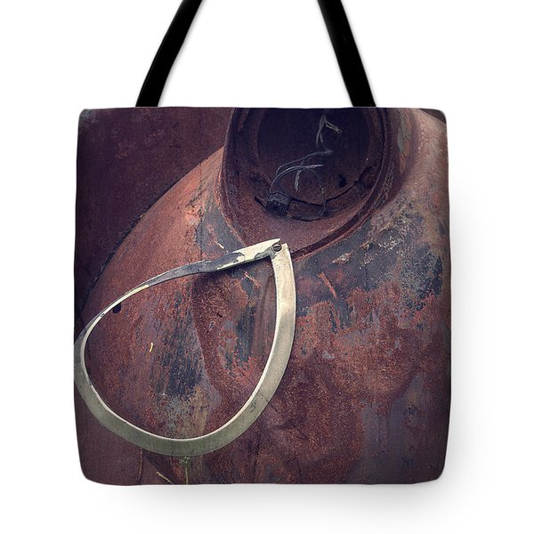 Teardrop At The End Of The Road Tote Bag by Edward Fielding