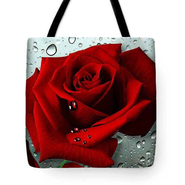 Tears From My Heart Tote Bag by Morag Bates