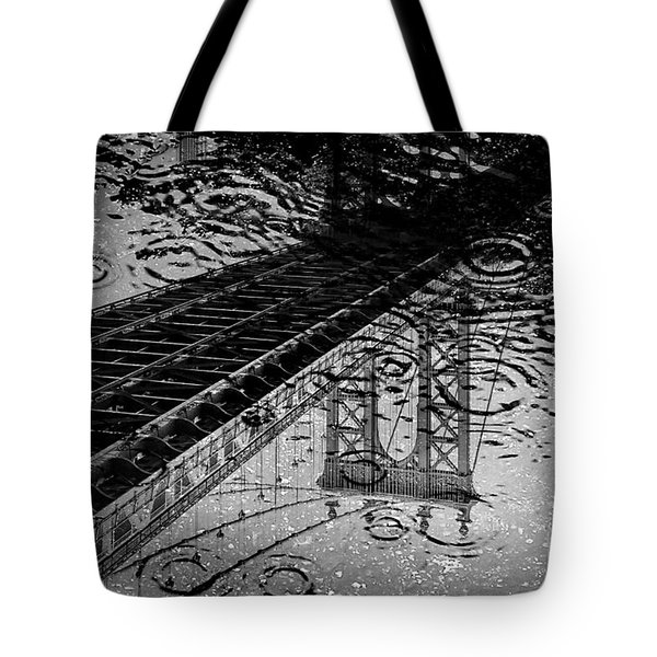 Tears Of New York Tote Bag