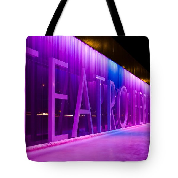 Teatro Fernan Gomez Tote Bag
